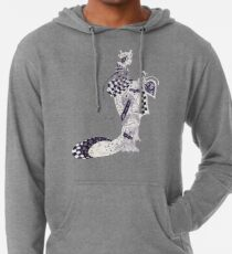 Inky Queen of the Orient Lightweight Hoodie