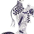 Inky Queen of the Orient by Hajra Meeks
