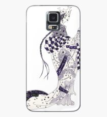 Inky Queen of the Orient Case/Skin for Samsung Galaxy