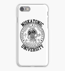 MISKATONIC UNIVERSITY HP LOVECRAFT  iPhone Case/Skin