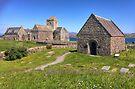 Iona Abbey, Isle of Iona, Scotland by Beth A.  Richardson