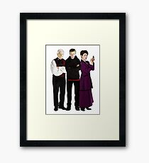 Doctor Who - The Three Masters Framed Print