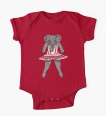Elephant Ballerina Tutu Kids Clothes