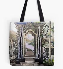 Marble and Crystal Tote Bag