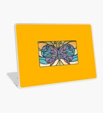 Tiffany Stained Glass Butterfly Laptop Skin