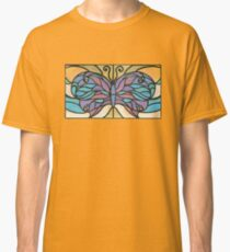 Tiffany Stained Glass Butterfly Classic T-Shirt