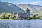 Kilchurn Castle on Loch Awe, Argyll, Scotland by Beth A.  Richardson