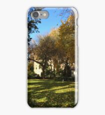 Autumn Colors, Union Square, New York City iPhone Case/Skin