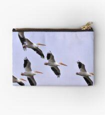 Flock of Pelicans Studio Pouch