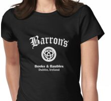 Barrons Books and Baubles Womens Fitted T-Shirt