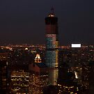 New York City by night by Olivia Son