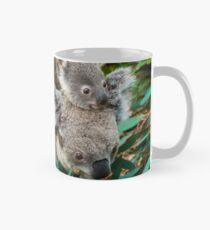Australian koala bear native animal with baby Mug