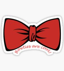 Bowties are Cool! Sticker