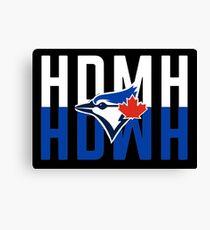 Marcus Stroman HDMH Blue Jays Canvas Print