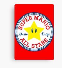 Super Mario All Stars Canvas Print