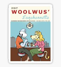 Woolwus' Luncheonette Sticker