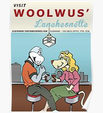Woolwus' Luncheonette Poster
