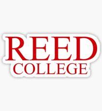Pegatina Reed College