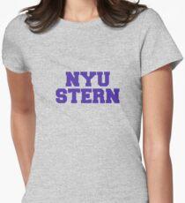 Camiseta entallada para mujer NYU popa