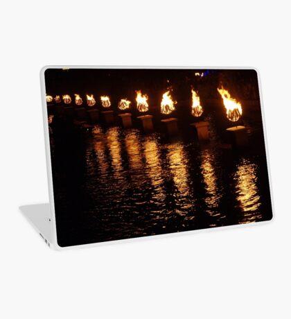 Waterfire Laptop Skin