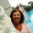 Mum at Pool - The Biltmore Hotel by Heidi  Jacobsen