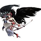 Amanozako v1 (feather fan) by Lorinda Tomko