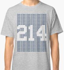 (say it fast) Zeke & Dak & (WHITE 214) Classic T-Shirt