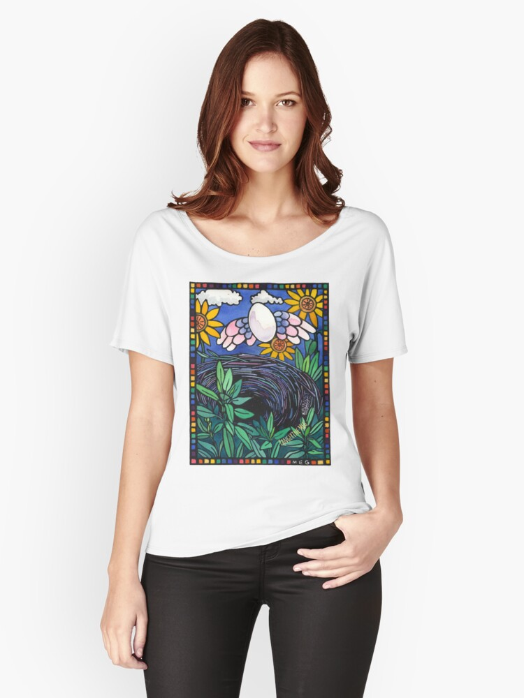 Winging It Women's Relaxed Fit T-Shirt Front