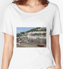 Looe, Cornwall, England, United Kingdom Women's Relaxed Fit T-Shirt