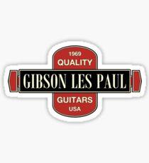 Old Les Paul 1969 Sticker