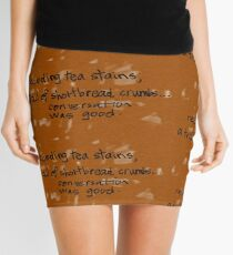 tea stains Mini Skirt