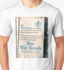 This Book, Buy War Bonds, WW II Unisex T-Shirt