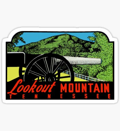 Lookout Mountain Chattanooga Tennessee Vintage Travel Decal Sticker