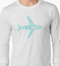 Time to travel Long Sleeve T-Shirt