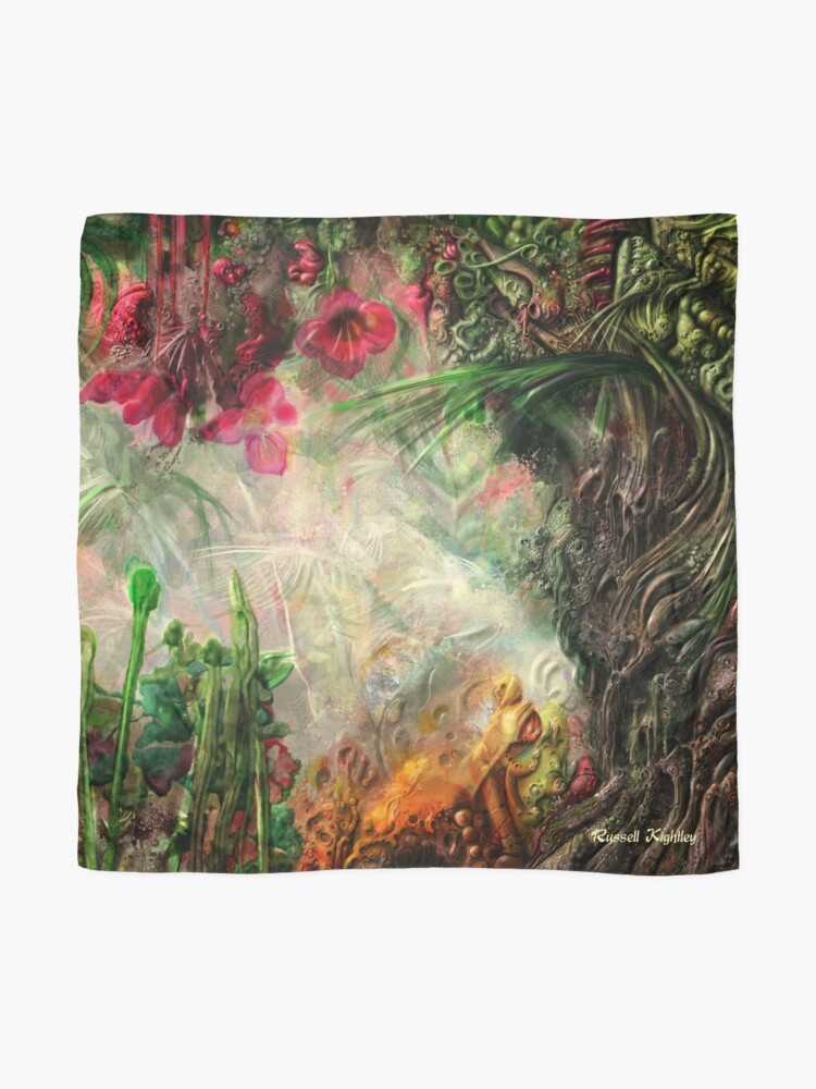 Alternate view of Qualia's Jungle Right Scarf