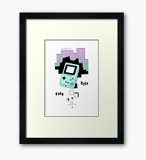 Gameboy Framed Print