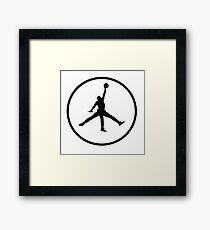 3 Legged Jordan Framed Print