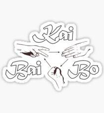 Kai Bai Bo Design Sticker