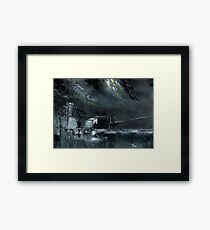 Night Out Framed Print