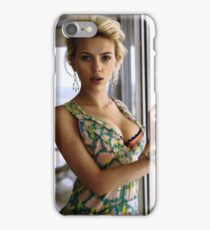 Scarlett Johansson, ultimate perfection iPhone Case/Skin