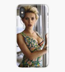 Scarlett Johansson, ultimate perfection iPhone Case