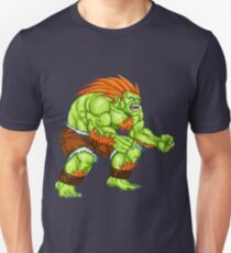 Blanka - green fighter T-Shirt