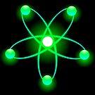 Atomic Orbit (Green) by cadellin