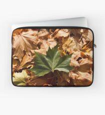 Fallen Maple Leaves Laptop Sleeve