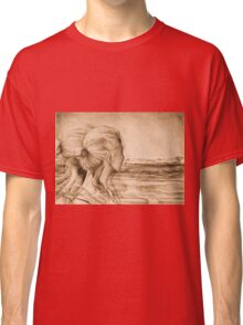 Lost In The Wind, 2016, 50-70 cm, graphite crayon on paper Classic T-Shirt