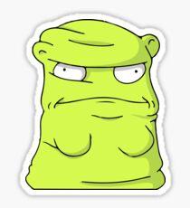 Melted Kuchi Kopi Green Sticker