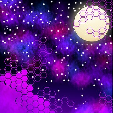 Hexagonal Cosmos by StudioBunny