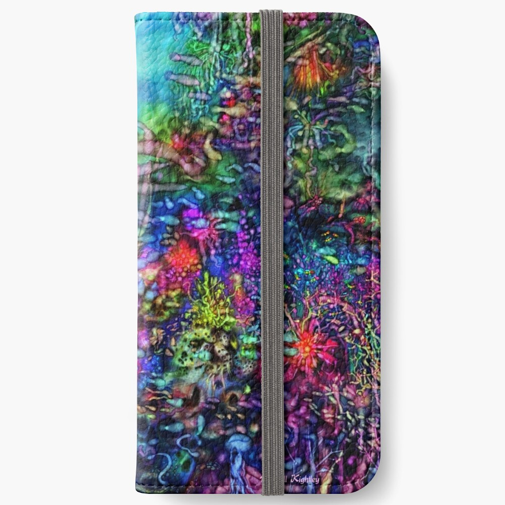 Qualia's Reef Right iPhone Wallet