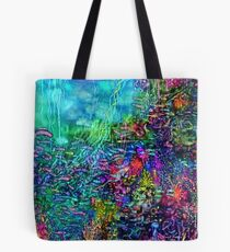 Qualia's Reef Right Tote Bag