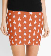 I honk therefore I am - #orange Mini Skirt
